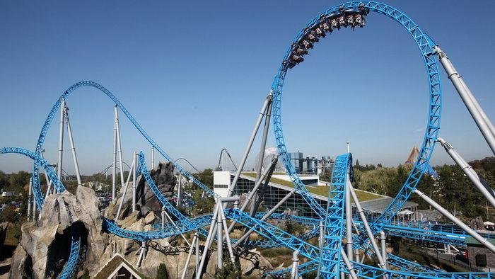 Blue Fire از محبوب ترین های Europa Park آلمان است
