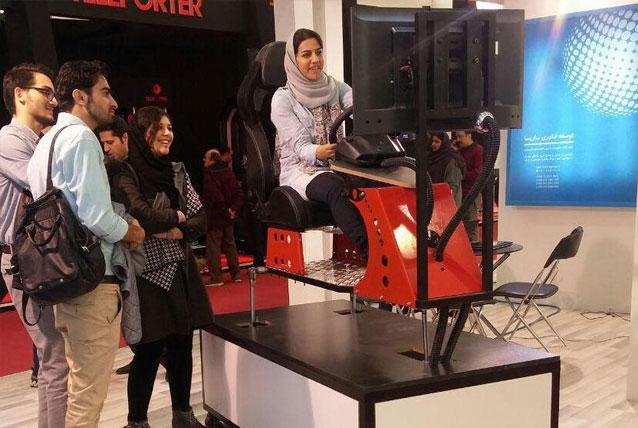 حضور شرکت توسعه فناوری ساریسا در ششمین نمایشگاه بین المللی صنعت تفریحات امتک ۲۰۱۷