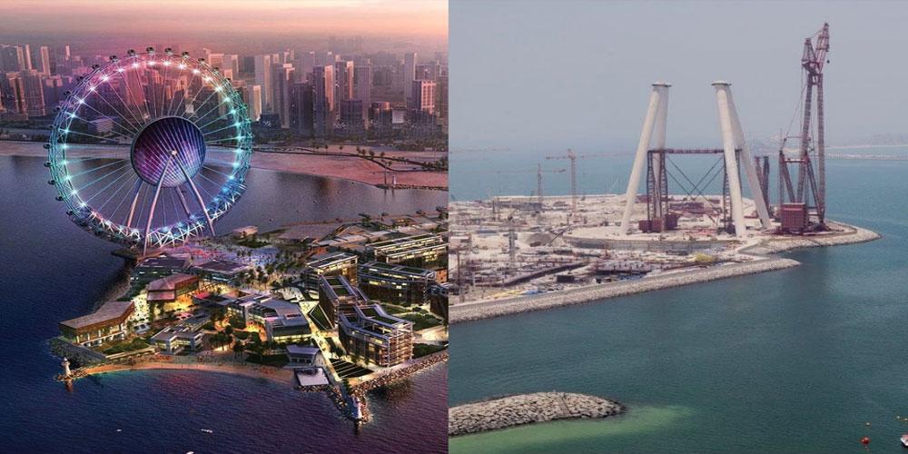 بزرگترین چرخ و فلک دنیا در دبی